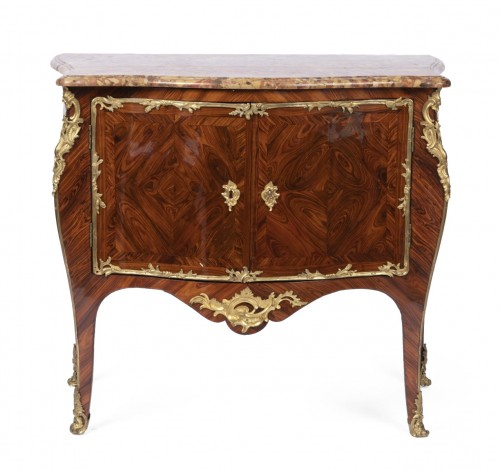 Commode d'époque Louis XV estampillé de Denis Genty