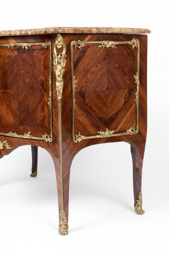 Louis XV - Louis XV Commode by Denis Genty