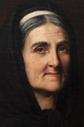 """Portrait """"I have good tobacco in my snuffbox"""" - Yolande de la Rochefoucauld -"""