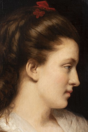 Portrait of a young woman -