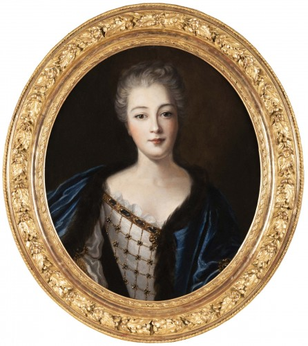 Portrait of Madame de Montalais attributed to Pierre Mignard (1612-1695)