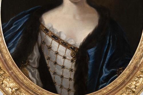 17th century - Portrait of Madame de Montalais attributed to Pierre Mignard (1612-1695)