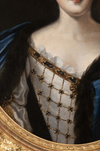 Portrait of Madame de Montalais attributed to Pierre Mignard (1612-1695) - Louis XIV