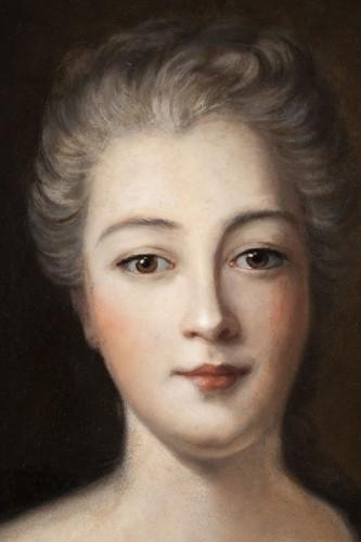 Louis XIV - Portrait of Madame de Montalais attributed to Pierre Mignard (1612-1695)