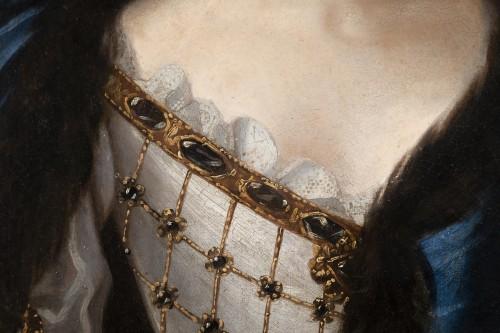 Antiquités - Portrait of Madame de Montalais attributed to Pierre Mignard (1612-1695)