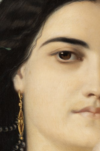 The favorite - J.J Gaspard Starck (1814-1884) - Napoléon III