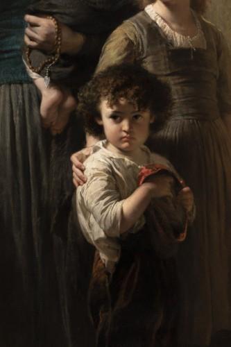 Paintings & Drawings  - Edouard Louis Dubufe (1820-1883) The Denarius of the Widow