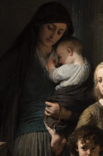 19th century - Edouard Louis Dubufe (1820-1883) The Denarius of the Widow