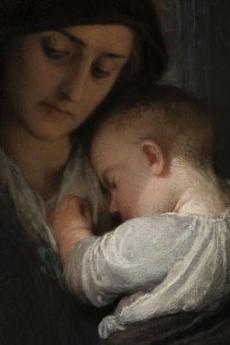 Antiquités - Edouard Louis Dubufe (1820-1883) The Denarius of the Widow