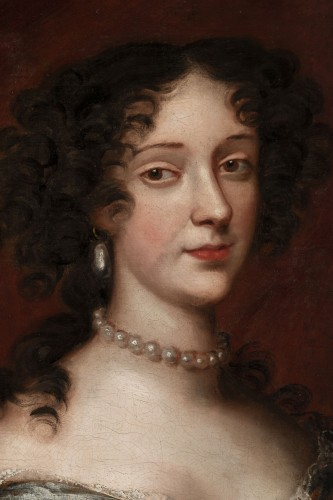 Louis XIV - Portrait 17th century, princess Marie Beatrice Eléonore Isabel d'Este