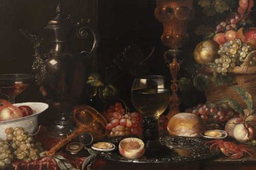 Still life of the 17th century attributed to Alexandre Coosemans 1627-1689 - Paintings & Drawings Style Louis XIV