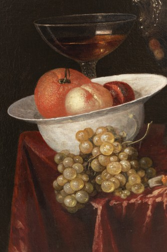 Still life of the 17th century attributed to Alexandre Coosemans 1627-1689 -