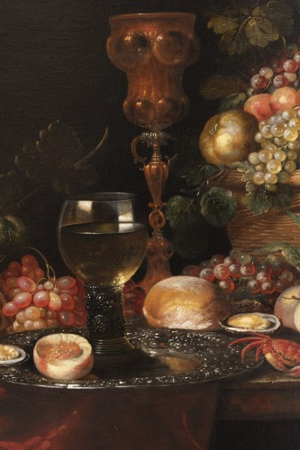 17th century - Still life of the 17th century attributed to Alexandre Coosemans 1627-1689