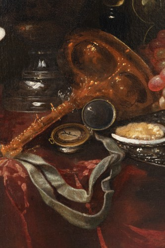 Still life of the 17th century attributed to Alexandre Coosemans 1627-1689 - Louis XIV