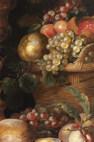 Louis XIV - Still life of the 17th century attributed to Alexandre Coosemans 1627-1689