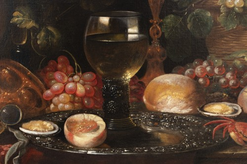 Antiquités - Still life of the 17th century attributed to Alexandre Coosemans 1627-1689