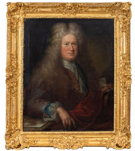 Presumed portrait of Louis de France (1661-1711) around Hyacinthe Rigaud