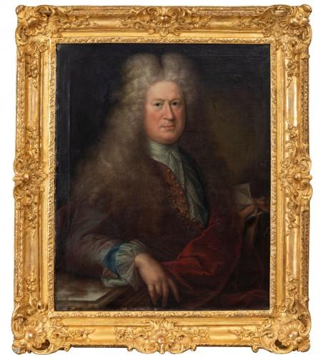 Presumed portrait of Louis de France (1661-1711) around Hyacinthe Rigaud