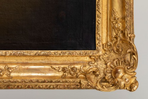 Louis XIV - Presumed portrait of Louis de France (1661-1711) around Hyacinthe Rigaud