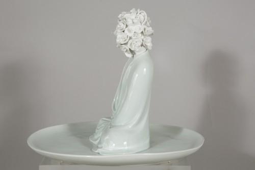 """Sculpture by Xiao Fan Ru """"Ode of Meditation"""" 2012   -"""