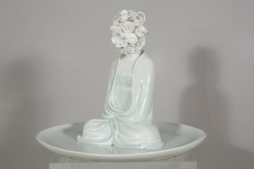 """- Sculpture by Xiao Fan Ru """"Ode of Meditation"""" 2012"""