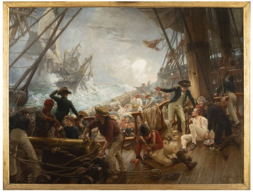 Navy- The Battle of Trafalgar - William Brassey Hole (1846 - 1917)