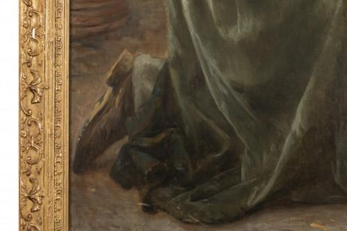 Napoléon III - he Kiss -  Timoléon Marie Lobrichon (1831-1914)