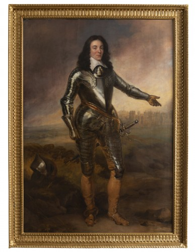 Portrait of Captain J.P of Sykehouse assigned Adriaen Hanneman (1603-1671)