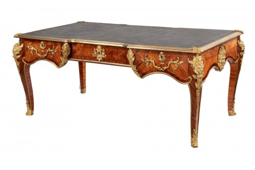 "Regence period Desk - ""The Dionysiac procession"""