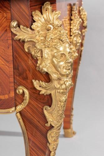 "Antiquités -  Regence period Desk - ""The Dionysiac procession"""
