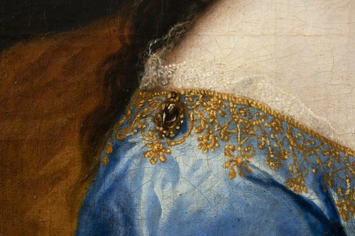 Portrait of an elegant - Attributed to Alexis Simon Belle (1674-1734) -