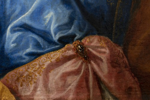 18th century - Portrait of an elegant - Attributed to Alexis Simon Belle (1674-1734)