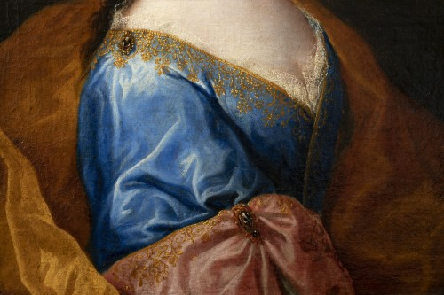 Portrait of an elegant - Attributed to Alexis Simon Belle (1674-1734) - French Regence