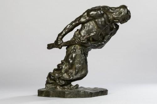 Sculpture  - Bernhard HOETGER (1874-1949) - Le Haleur