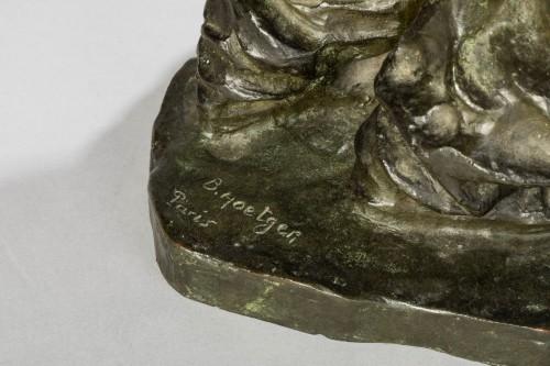 Bernhard HOETGER (1874-1949) - Le Haleur -