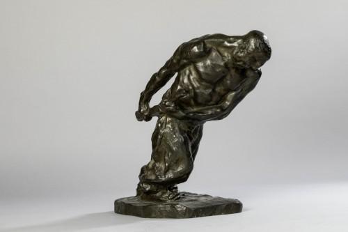 20th century - Bernhard HOETGER (1874-1949) - Le Haleur