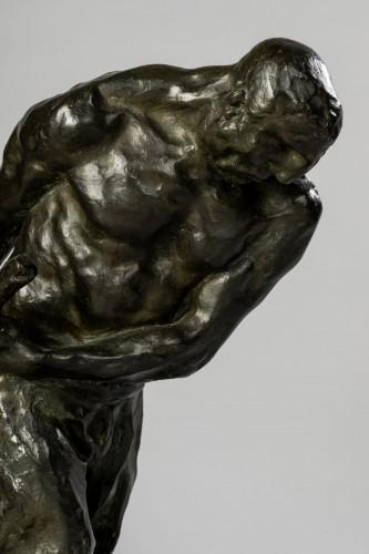 - Bernhard HOETGER (1874-1949) - Le Haleur