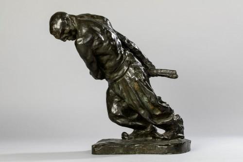 Antiquités - Bernhard HOETGER (1874-1949) - Le Haleur