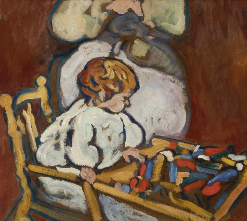 "Louis Valtat (1869-1952) - ""Jean"" circa 1908, Fauve Period"