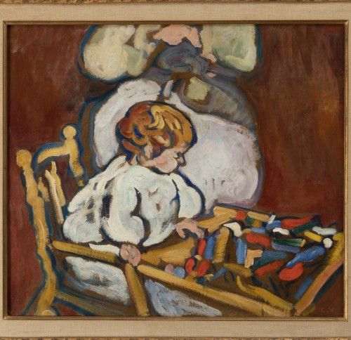 "Louis Valtat (1869-1952) - ""Jean"" circa 1908, Fauve Period - Paintings & Drawings Style"