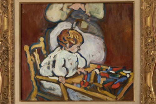 "Paintings & Drawings  - Louis Valtat (1869-1952) - ""Jean"" circa 1908, Fauve Period"