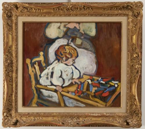 "Antiquités - Louis Valtat (1869-1952) - ""Jean"" circa 1908, Fauve Period"