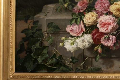 Paintings & Drawings  - Throwing roses - Jean Bonnet 1878
