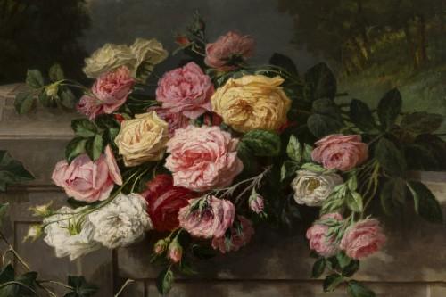 Throwing roses - Jean Bonnet 1878 -