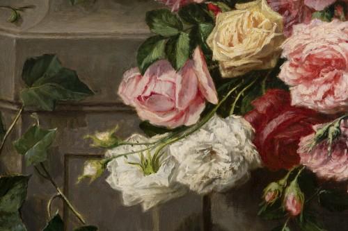 Throwing roses - Jean Bonnet 1878 - Napoléon III