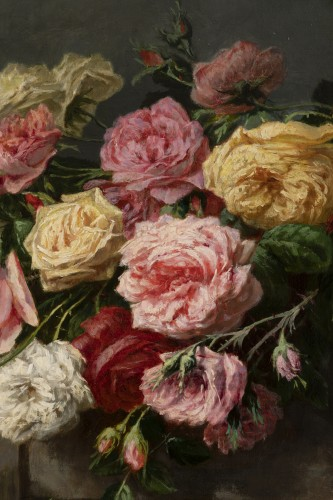 Napoléon III - Throwing roses - Jean Bonnet 1878