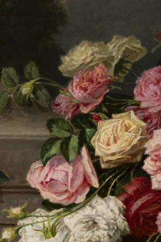 Antiquités - Throwing roses - Jean Bonnet 1878