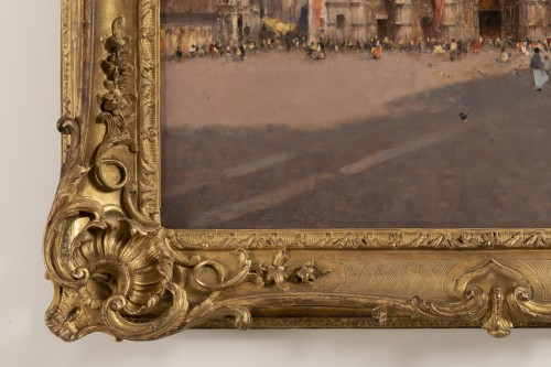 19th century -  Amédée Rosier (1831 - 1898) Venice, Saint Mark's Square