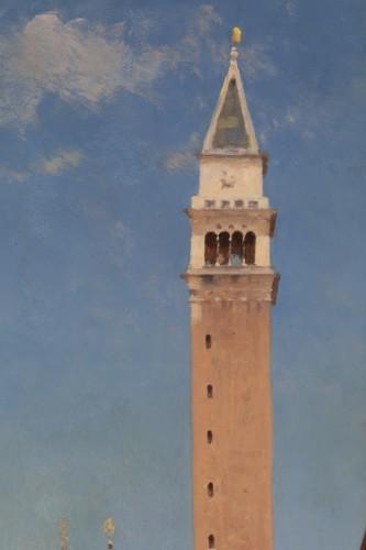 -  Amédée Rosier (1831 - 1898) Venice, Saint Mark's Square