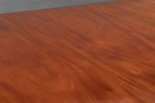 Mahogany dining table, Louis XVI period -